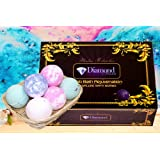 Amazon Price History for:Bath Bombs Gift Set - Handmade Spa Bomb Fizzies - Spa Kit Bath Pearls & Flakes - Organic & Natural Ingredients - foam bath bombs - Infant Bath bombs For Gift Set By Diamond Driven (6 Pack)