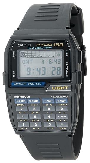 79545ada3827 Amazon.com  Casio Men s DBC150-1 Databank Digital Watch  Casio  Watches