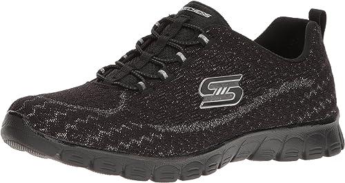 Details about Skechers Ladies Glitter Trainers Estrella 23412