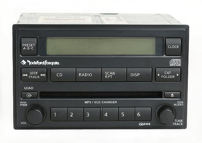 Amazon Nissan Xterra Frontier 200507 Rockford Fosgate Radio Am Rhamazon: 2006 Nissan Xterra Radio At Gmaili.net