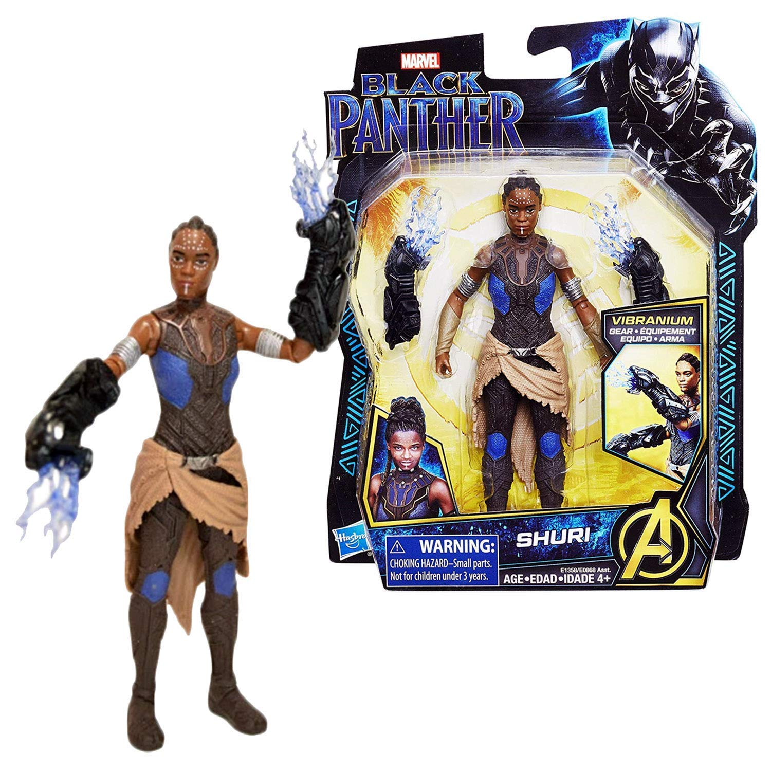 Black Panther Shuri 6 Action Figure 2018 Movie HSBR