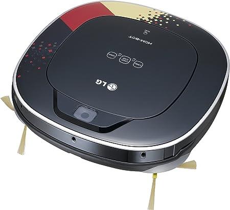 LG VR 63455 LV - Robot aspirador con cámara (capacidad de limpiar continuamente: 80 minutos), color negro: Amazon.es: Hogar
