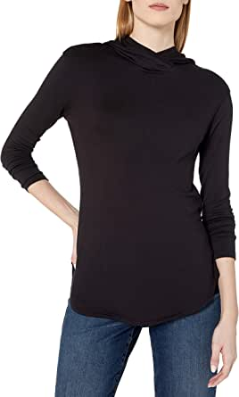 Daily Ritual Amazon Brand Women's Supersoft Terry Long-Sleeve Hooded Pullover
