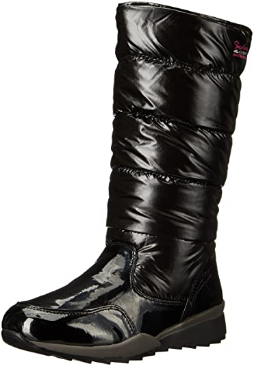 look out for lovely luster usa cheap sale Amazon.com | Skechers Women's Anchored-Tall Quilted Snow ...