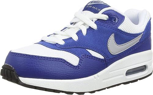 air max 1 blanc bleu