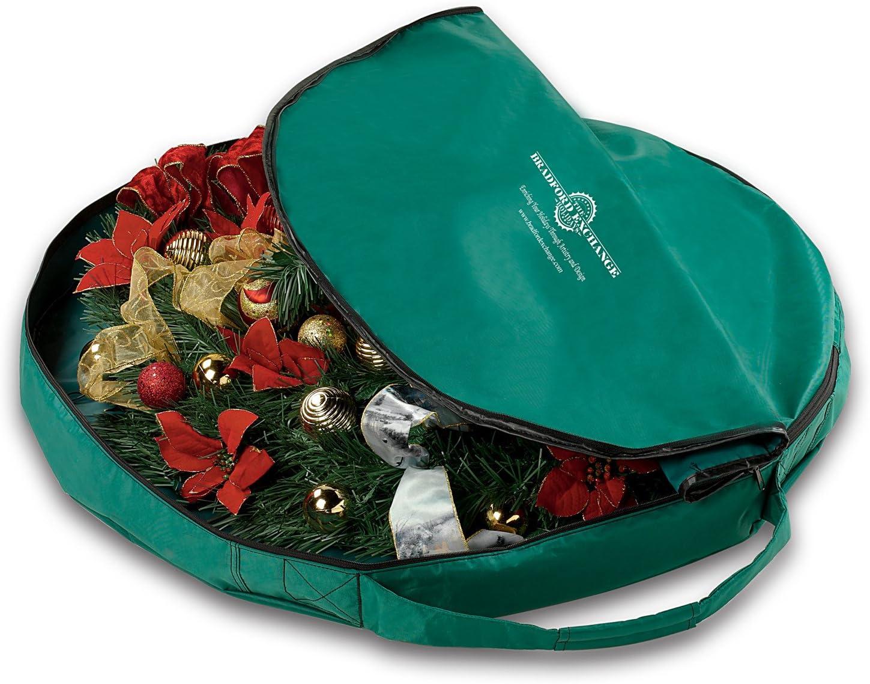 Hammacher Thomas Kinkade Illuminated Holiday Wreath Play Christmas Music Musical