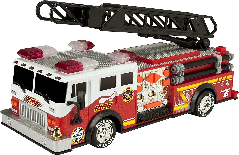 Toy State Road Rippers vehiculo de Rescate y Emergencia Rush & Rescue Bomberos (35 cm): Amazon.es: Juguetes y juegos