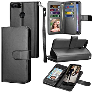 the latest 6d7ed 5b3c7 Honor 9 Lite/Huawei P Smart Case, Eutekcoo PU Leather: Amazon.co.uk ...