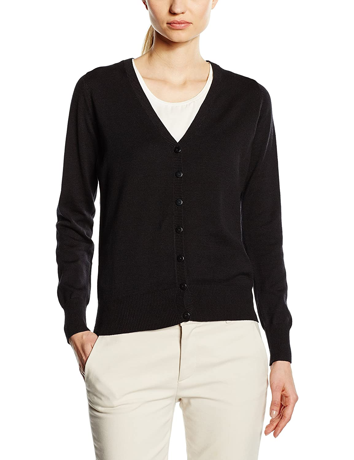 Premier Workwear Ladies Button Through Knitted Cardigan Chaqueta para Mujer