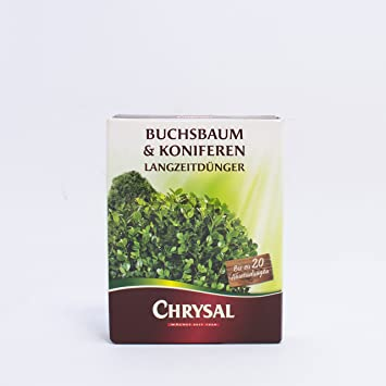 Chrysal – Boj & coníferas largo tiempo abono 300 g 20 Aplicaciones OD. 6 M²