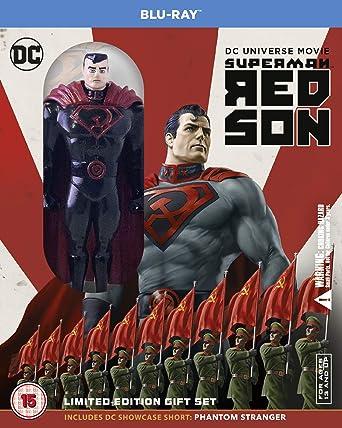 Superman Red Son Mini Figurine Edition Blu Ray 2020 Region Free Amazon Co Uk Dvd Blu Ray