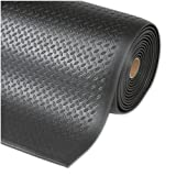 etm® Anti-fatigue Mat, Diamond Structure, Black | Over 33 Sizes | Workplace Safety Comfort Flooring