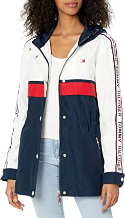 Tommy Hilfiger Womens Iconic Anorak Jacket