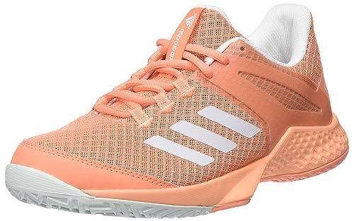 Adidas Adizero Club W, Zapatillas de Deporte para Mujer, Naranja ...