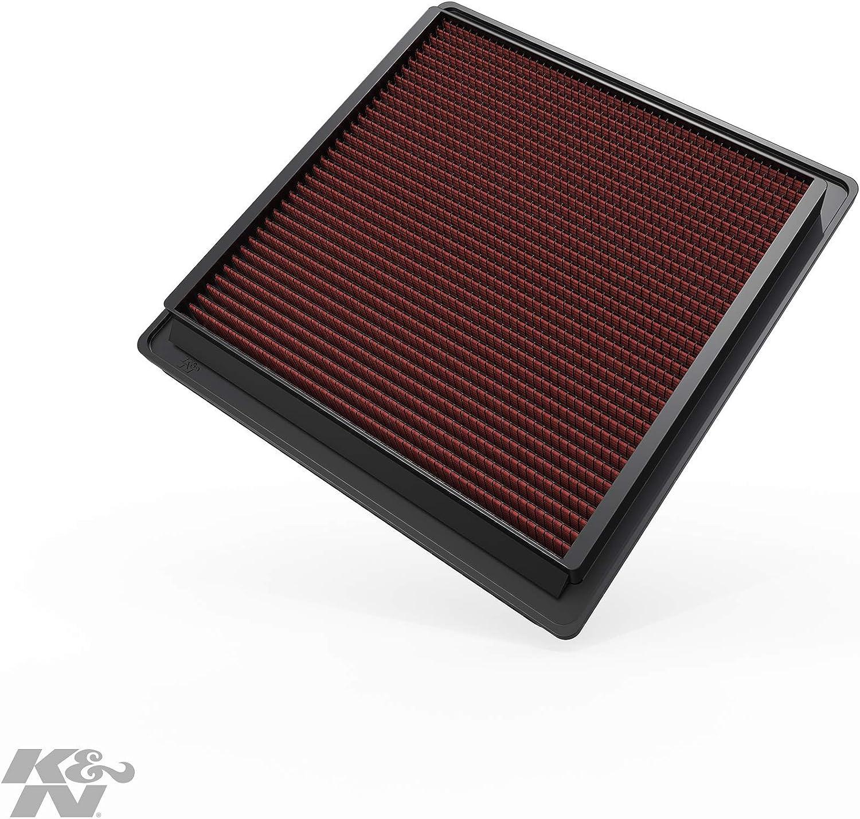 K/&N 33-2486 Filtri Aria Sostitutivi Auto Lavabile e Riutilizzabile