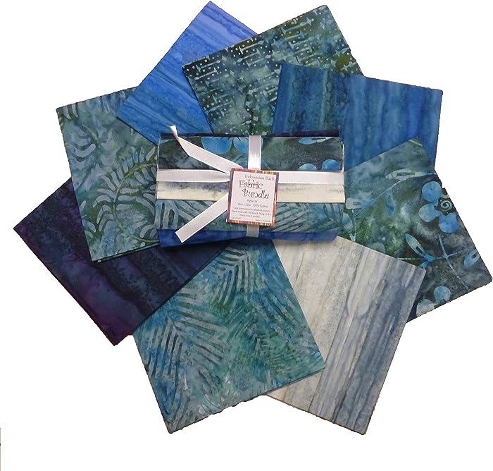 Top 10 Island Batiks Blender Navy