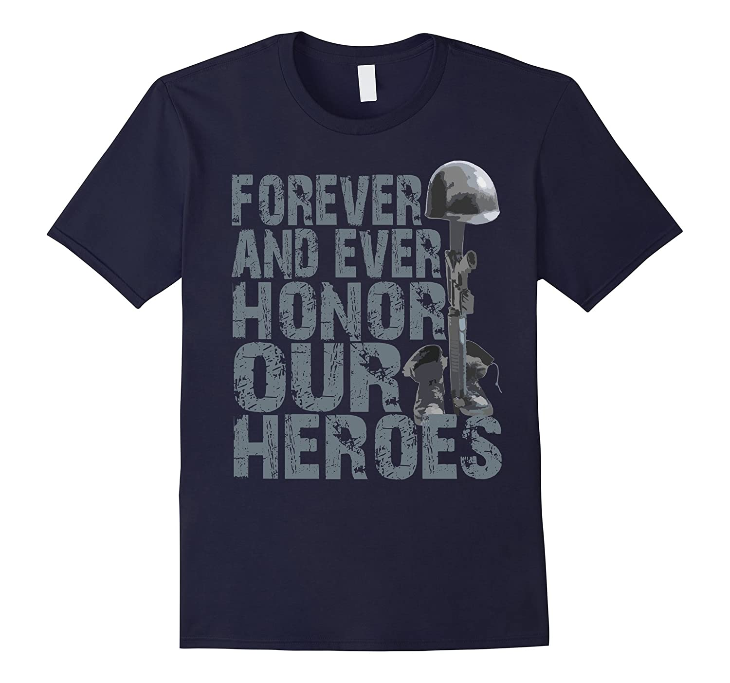 Memorial Day - Honor Our Heroes T-Shirt-CD