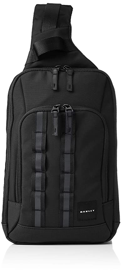 newest collection innovative design best choice Oakley Mens UTILITY ONE SHOULDER BAG, Blackout,: Amazon.co.uk: Luggage