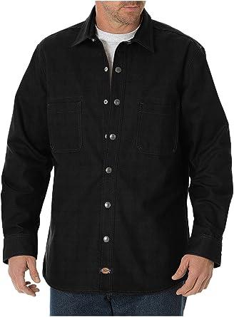 Dickies Camisa de lona con espalda cepillada LS WL620 para ...