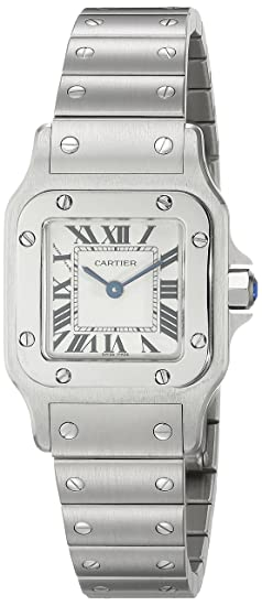 Cartier W20056D6 - Reloj (Reloj de Pulsera, Femenino, Acero Inoxidable, Acero Inoxidable