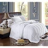 California King White Down Alternative Comforter with Corner Tab 300TC 60oz Fill All Season Duvet Insert