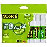 Scotch 6640FL - Pegamento transparente (8 x 8 g)