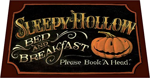 Cr Mat – Sleepy Hollow Door Mat – Halloween