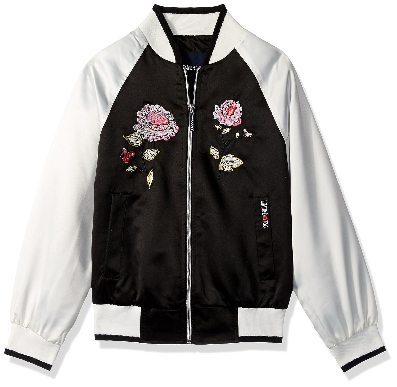 Limited Too Girls Big Satin Souvenier Jacket