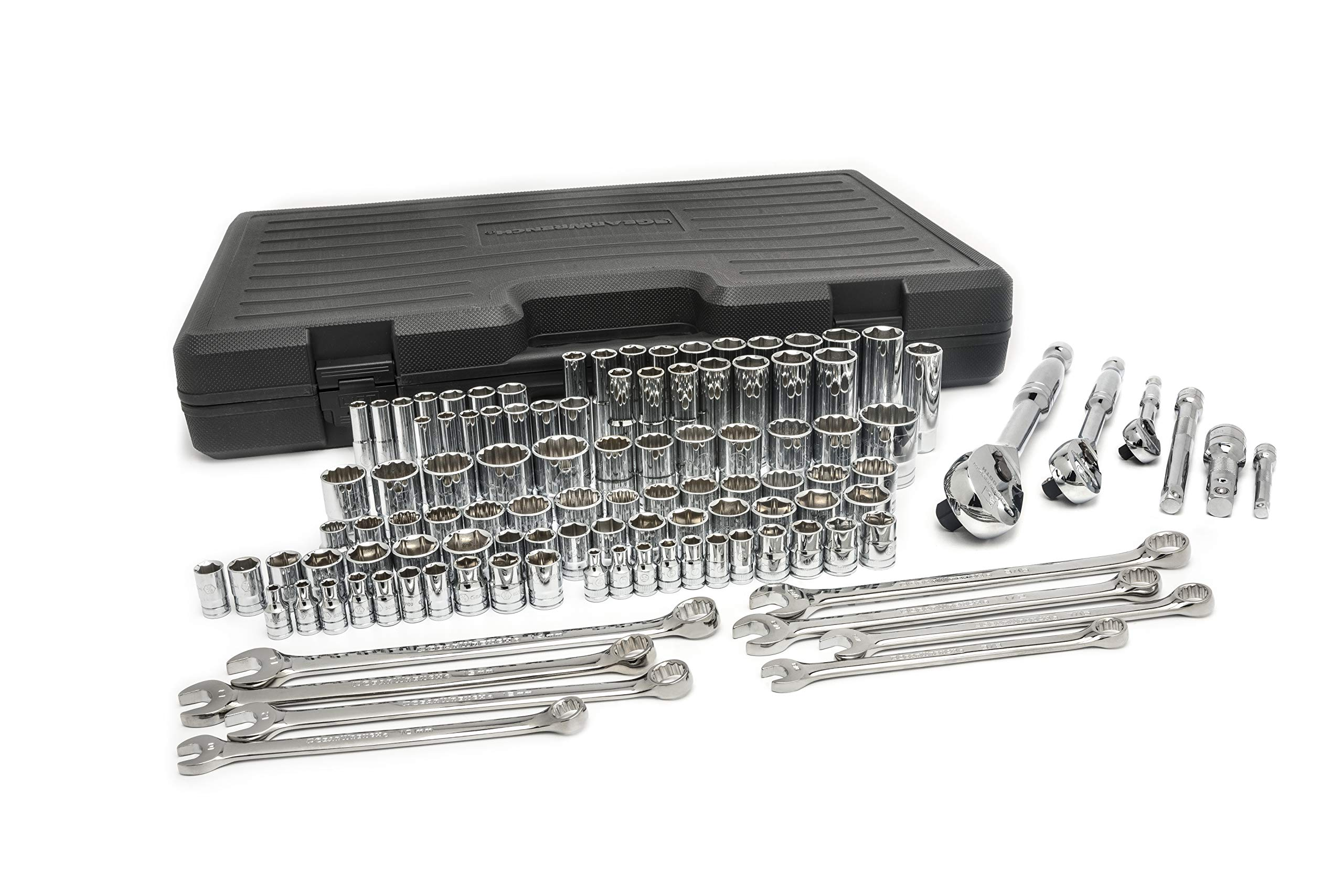 GEARWRENCH 89058 Mechanics Tool Set SAE/MM (110-Pieces)