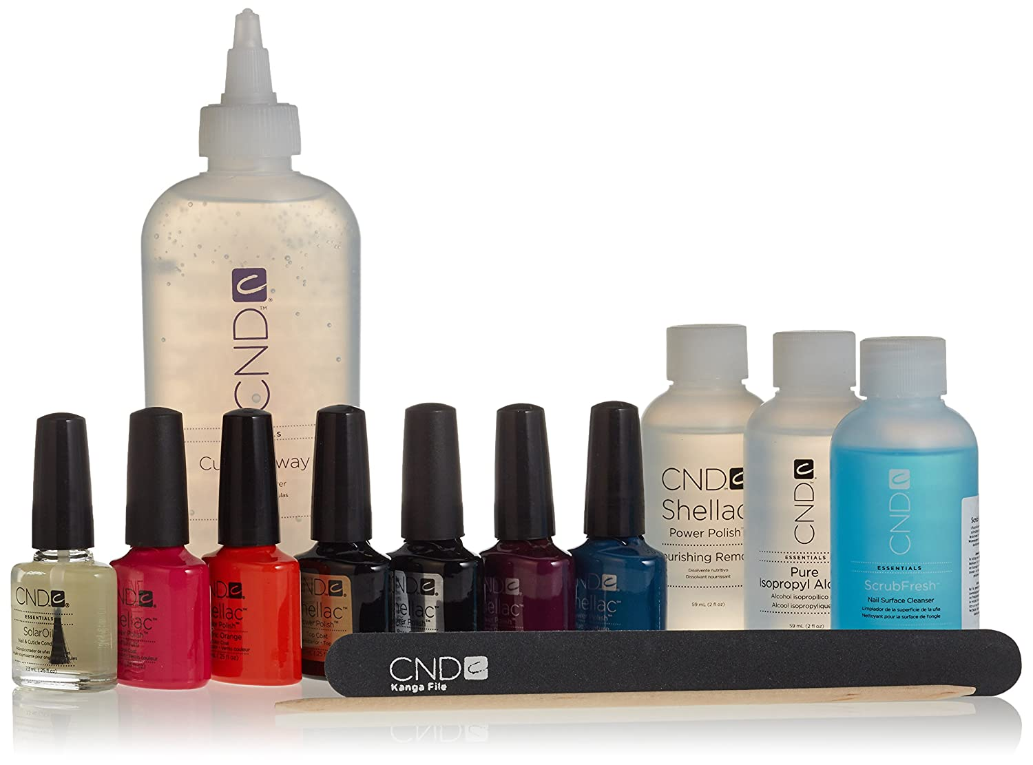 Cnd shellac uvled trendy trial starter power polish intro pack cnd shellac uvled trendy trial starter power polish intro pack amazon beauty solutioingenieria Image collections