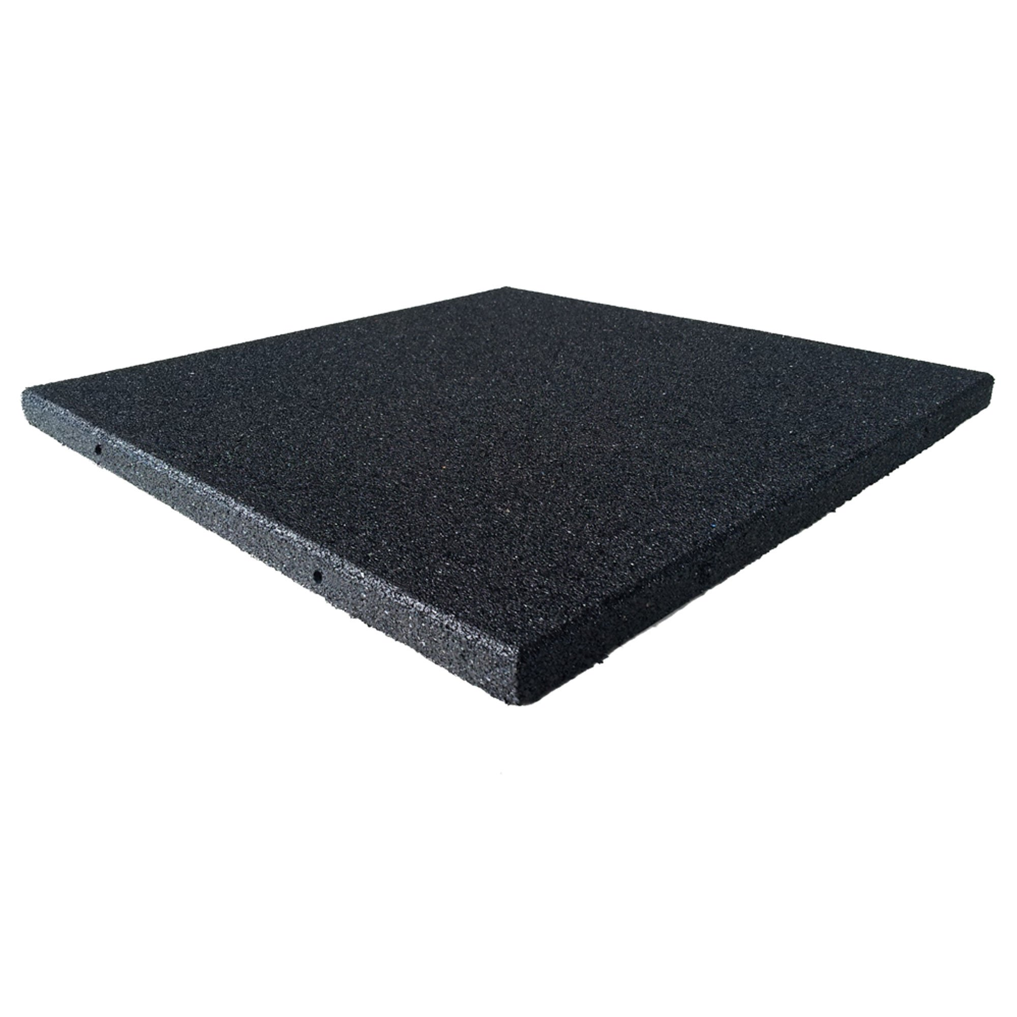 Rubber-Cal Eco-Sport Floor Tile-Pack of 3, Coal, 1 x 20 x 20-Inch