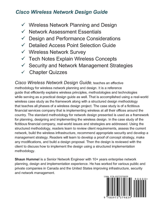 Cisco Wireless Network Design Guide: Foundation for Cisco