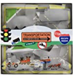 Fox Run 36010 Transportation Cookie Cutter Set, Tin-Plated Steel, 6-Piece