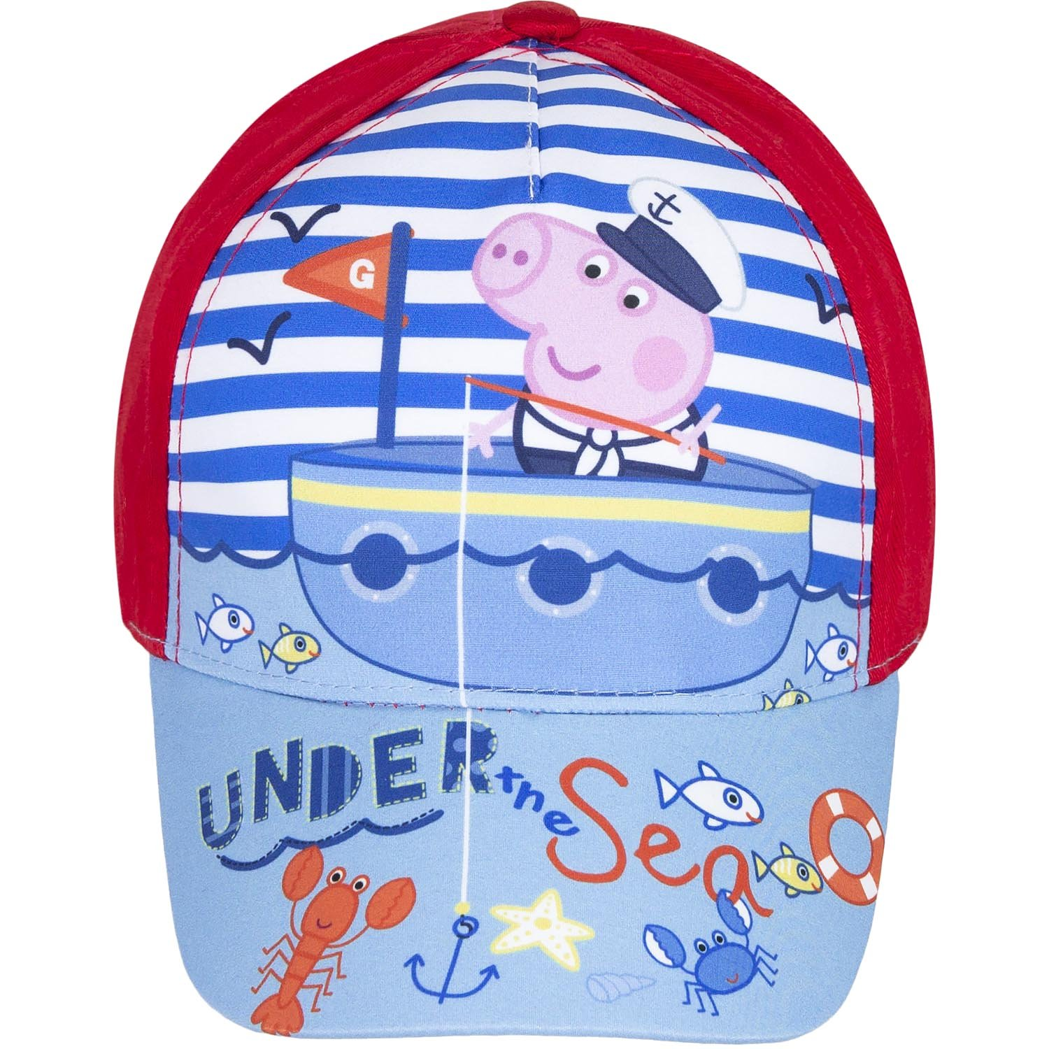 Peppa Pig Childrens/Kids Under The Sea Cap UTKC612_3