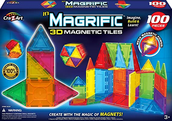 Cra-Z-Art Magrific Magnetic Set (100-Piece)