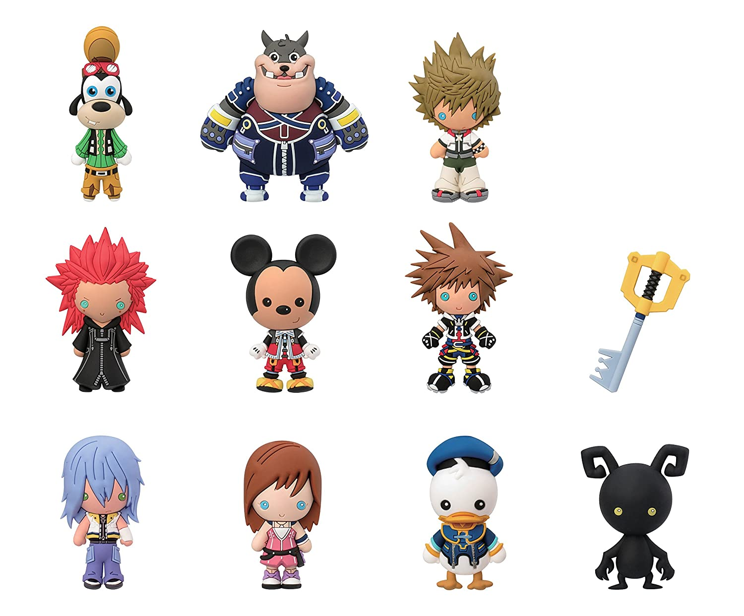 Disney Kingdom Hearts Coleccionable enrollable bolsas clave cadena: Amazon.es: Juguetes y juegos