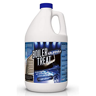 BOILER TREAT ULTRA Multi Purpose Boiler Water Treatment - 1 Gallon | Prevents Scale & Lime in Steam Boilers, Hot Water Systems, Closed Loop Systems & Wood Burning Boilers: Home Improvement