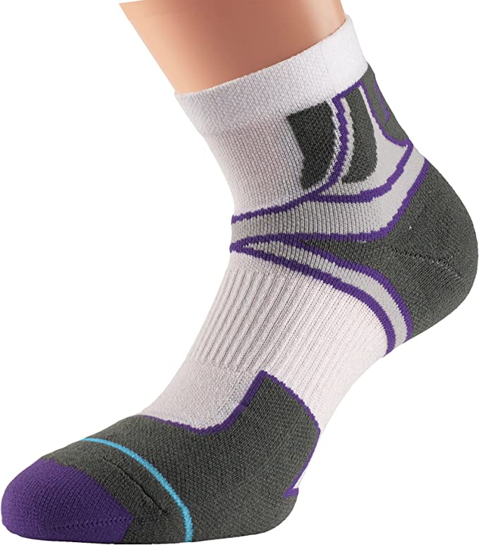 Ladies 1 Pair 1000 Mile Cross Sport Socks with Arch Support