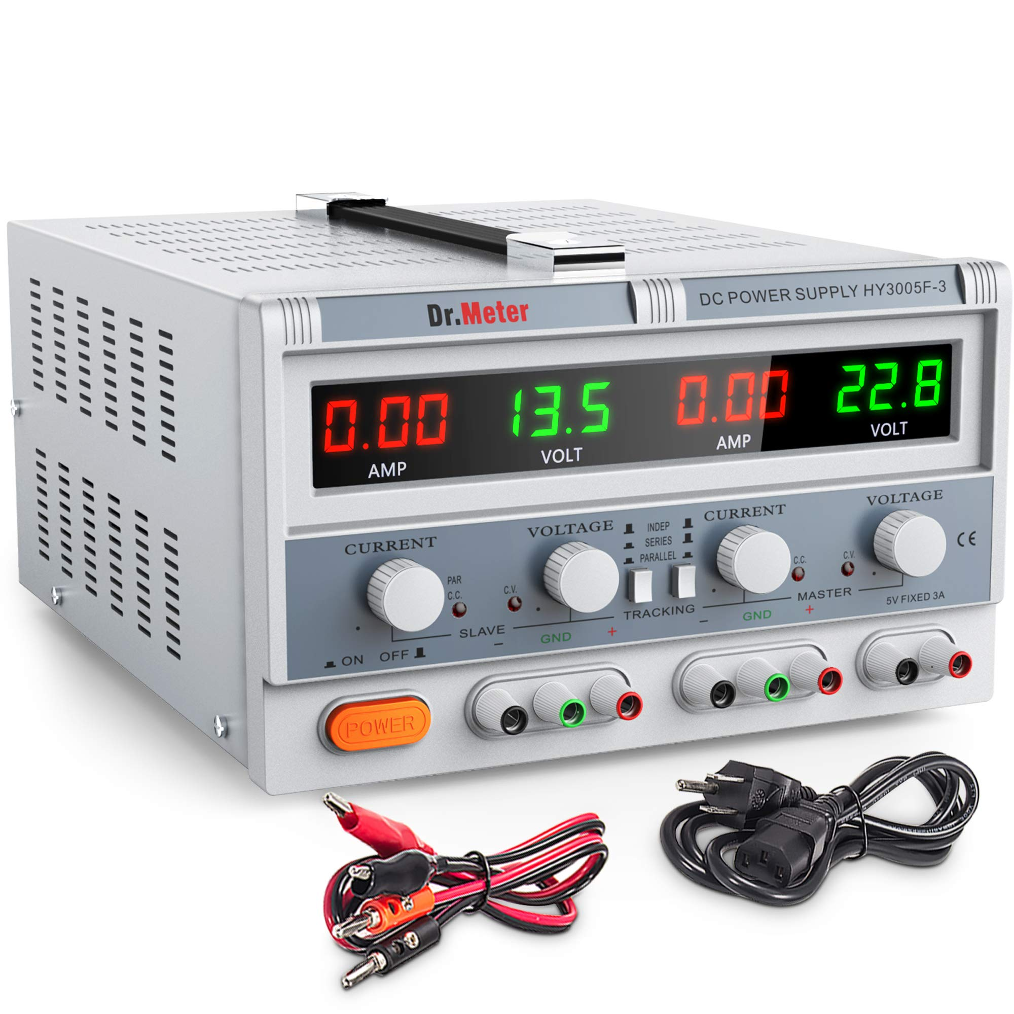 Best Rated In Lab Power Supplies Helpful Customer Reviews We Can Configure Them As A Lowvoltage Bipolar Supply Drmeter Hy3005f 3 Triple Linear Dc 30v 5 Amp