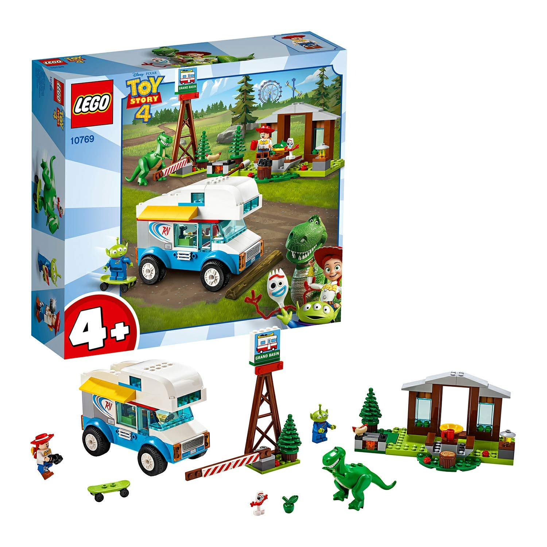 10769 Construction Pixar Les Disney Car Vacances En 4 Lego De Camping Story Jeu Toy FJ3T1clK