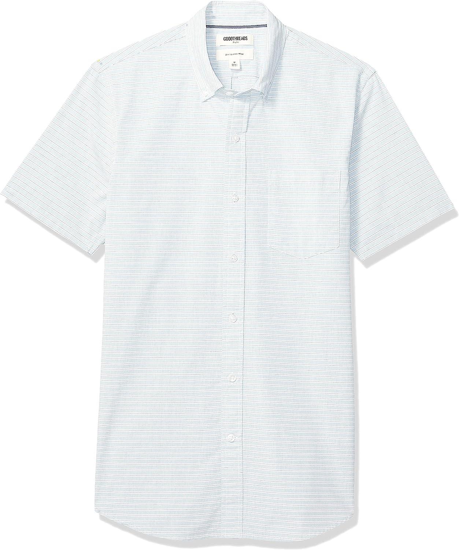 Goodthreads Miami Mall Men's Slim-fit Max 40% OFF Poplin Short-Sleeve Shirt