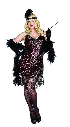 b4ec364e5af Amazon.com  Dreamgirl Women s Plus-Size Dames Like Us Costume  Clothing