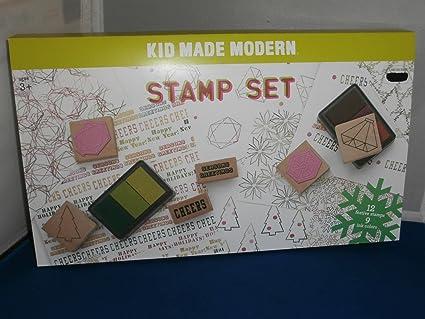 Kid Made Modern Rubber Stamp Set