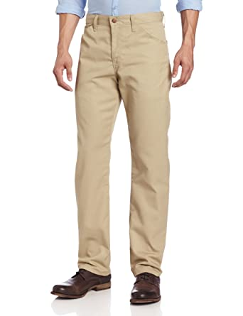 5fa8c904b06c69 Dickies Men's Slim Straight-Fit Lightweight Five-Pocket Twill Pant at  Amazon Men's Clothing store: