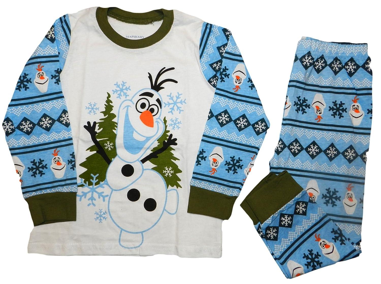 4357b3213 Frozen Olaf Pyjamas (7 Years (130cm))  Amazon.co.uk  Clothing