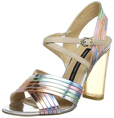 French Connection Connection French 94935Sandales Multicolorenudemulti French Multicolorenudemulti Femme 94935Sandales Femme OPTkiuXZ