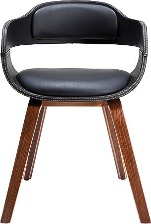 Kare Design Stuhl Mit Armlehne Costa Walnut Moderner Bequemer
