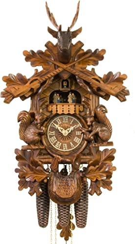 Adolf Herr Cuckoo Clock – Squirrels
