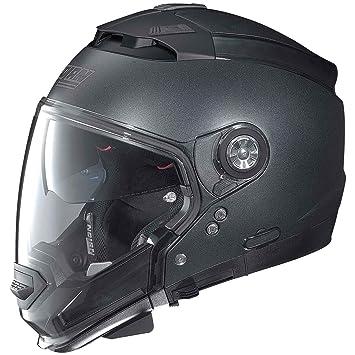 Nolan N44 Evo Special casco de moto Modular en Lexan con sistema N-Com negro