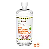 6L PREMIUM BIOETHANOL FUEL FOR ALCOHOL CAMPING STOVES, METHANOL FREE! FREE NEXT WORKING DAY DELIVERY to mainland UK for orders placed before 3pm. Bio ethanol Liquid fuel, Methanol Free, for Alcohol Camping Stoves, Spirit Stoves & Spirit Burners.